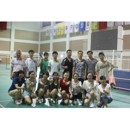 2014 Second Dongyue Badminton Game